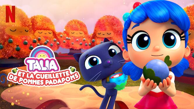 Talia et la cueillette de Pommes Padapoms
